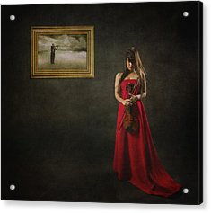 When Memories Never Want To Go Acrylic Print