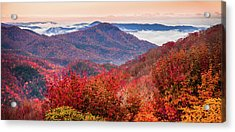 Acrylic Print featuring the photograph When Mountains Sing by Karen Wiles
