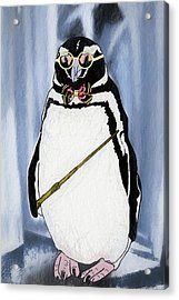 When Penguins Apply To Hogwarts Acrylic Print