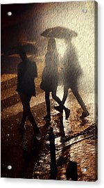 When The Rain Comes Acrylic Print by Jaroslaw Blaminsky