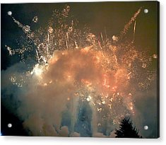 When The Smoke Clears Acrylic Print by Jim DeLillo