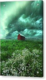 When The Thunder Rolls Acrylic Print by Phil Koch