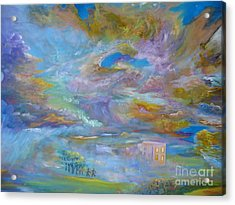 When The Winds Of Changes Shift Acrylic Print