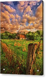 When There's No One Around Acrylic Print by Phil Koch