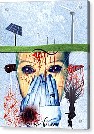 When They Take The Mind Acrylic Print