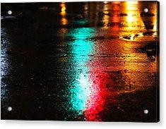 Whenever It Rains Acrylic Print