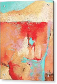 Acrylic Print featuring the painting Where Am I 1 by M Diane Bonaparte