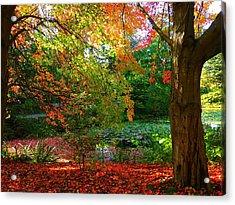 Where Autumn Lingers  Acrylic Print