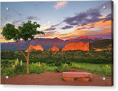Acrylic Print featuring the photograph Where Beauty Overwhelms by Tim Reaves