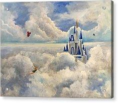 Where Dreams Come True Acrylic Print