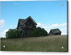 Where Dreams Whirled In Prairie Winds Acrylic Print by Jeff Swan