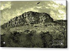 Where Eagle Dare-ii Acrylic Print by Manjot Singh Sachdeva