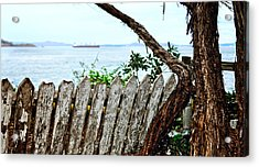 Where Is Becky? Acrylic Print by Camille Lopez