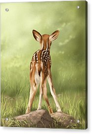 Where Is My Mom? Acrylic Print