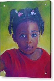 Where Is My Mommy Acrylic Print by Merle Blair