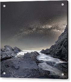 Where Is The Moon Acrylic Print by Stoyan Hristov