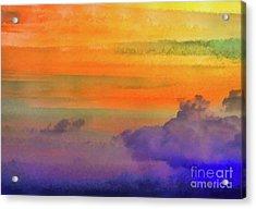 Where Rainbows Begin Acrylic Print by Robyn King