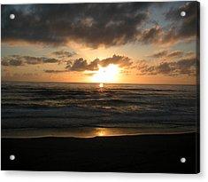 Where Sun And Ocean Meet Acrylic Print