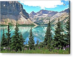 Where The Bow River Starts Acrylic Print