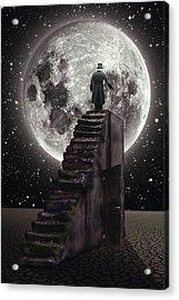 Where The Moon Rise Acrylic Print