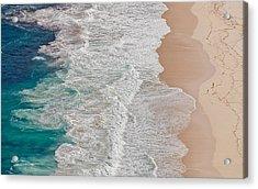 Where The Ocean Ends... Acrylic Print by Andreas Feldtkeller
