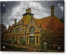 Where The Ravens Fly Acrylic Print by Maggie Terlecki