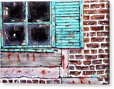 Where The Warehouse Was Acrylic Print by Tim Ross