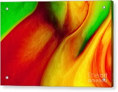 Where Time Stands Still Acrylic Print