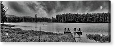 Acrylic Print featuring the photograph Where To View Twin Ponds by David Patterson