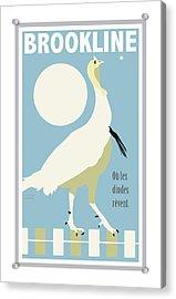 Where Turkeys Dream Acrylic Print