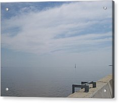 Where Water Meets Sky Acrylic Print