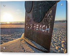 Where's Your Pooch Acrylic Print by Joseph S Giacalone