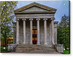 Acrylic Print featuring the photograph Whig Hall Princeton University by Susan Candelario