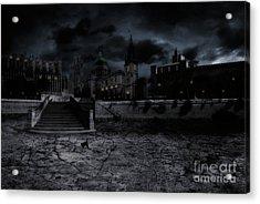 Whilst The City Sleeps Acrylic Print by John Edwards