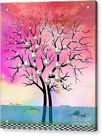 Whimsical Acrylic Print by Mark Ashkenazi