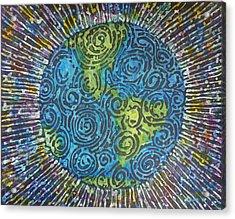 Whirled Piece Acrylic Print