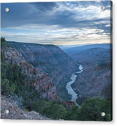 Acrylic Print featuring the photograph Whirlpool Canyon by Joshua House