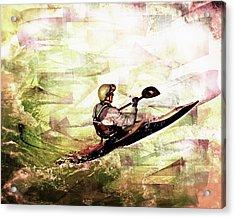 Whirlpool Kahyaker 5 Acrylic Print