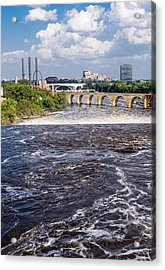 Whirlpool On Mississippi Acrylic Print