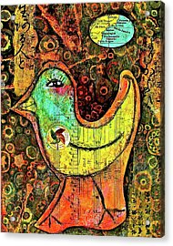 Whirly Bird Acrylic Print