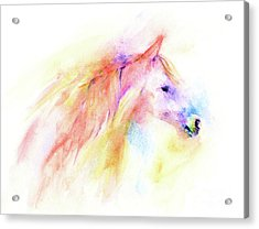 Acrylic Print featuring the painting Whisper by Elizabeth Lock