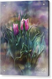 Whisper Of Spring Acrylic Print by Agnieszka Mlicka