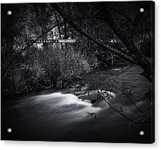 Acrylic Print featuring the photograph Whispering Brooke by Tim Nichols