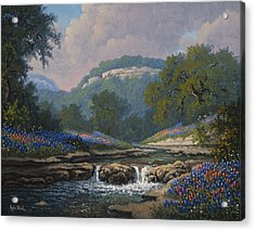 Whispering Creek Acrylic Print