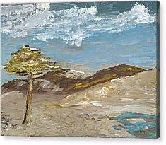 Whispering Dunes Acrylic Print