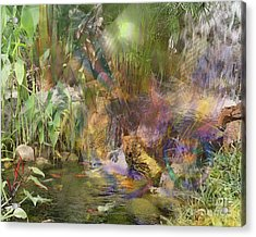 Whispering Waters Acrylic Print by John Beck