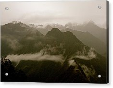 Whispers In The Andes Mountains Acrylic Print