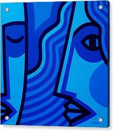 Whispers Acrylic Print by John  Nolan