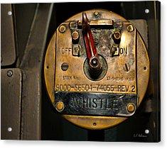 Whistle Switch Acrylic Print