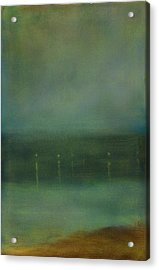 Whistler Night Acrylic Print by Robert James Hacunda